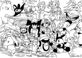 Pokemon Best Wishes Christmas