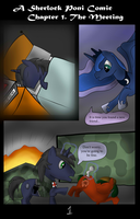 Chapter 1, Page 1 by SnowFlight96