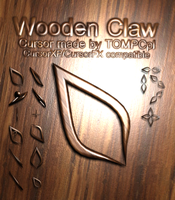 Wooden Claw by TOMPCpl