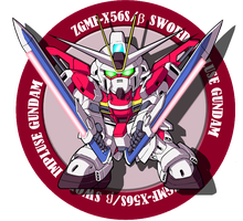 ZGMF-X56S Sword Impulse Gundam by darksonwong