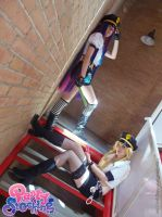 Panty and Stocking - Police version by onlycyn