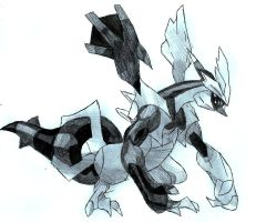 Black Kyurem! by Macuarrorro