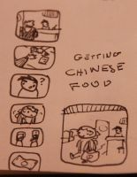 Getting Chinese Food by richardand