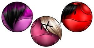 .:Emo Haro Trio:. by Aikobo