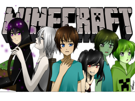 MINECRAFT Anime Ver. by Vika01