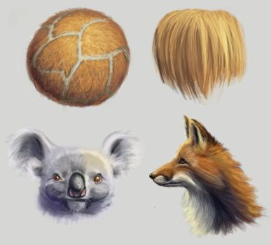 Drawing practise: Furry friends by IgnazioDelMar