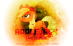 Applejack The Movie Wallpaper by EnemyD