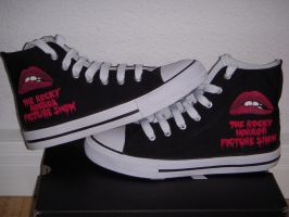The Rocky Horror Picture Shoes by VespaChis