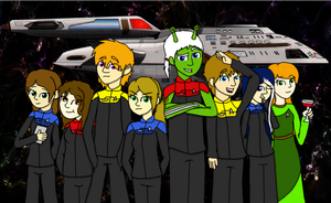 Crew of the U.S.S Discovery by vulcangirl14
