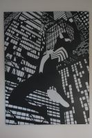 Spiderman Black and White by Joshfryguy
