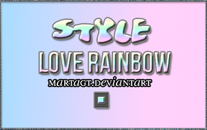 +LoveRainbow by CimFamSkrillete