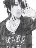 Attempt to draw Ruki by ChainedDarkness