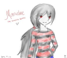 Marceline~ The Vampire Queen by RemusJLNicoDALOLness