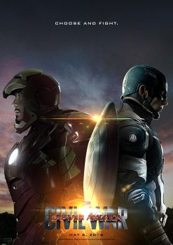 Captain America: Civil War Poster A by sahinduezguen