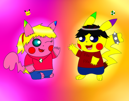 Pikachu Pals ~Collab~ by yoshiLover1000