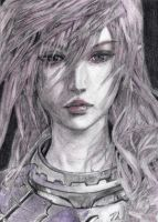Lightning, Final Fantasy XIII-2 by LittleDragonZ