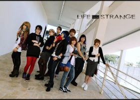 Life is STrange cosplay group by LilituhCosplay