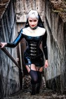 The Latex Nun by mmaexx