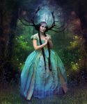 Woodland Princess by BloomingRoseXeniia