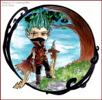 Chibi Commission .Zakarion. by Cleox