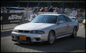 1995 Nissan Skyline R33 GT-R by compaan-art