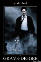 Keanu Reeves as Grave-Digger by CABARETdelDIAVOLO