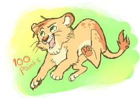 SOLD- Lion Adoptable by starsweep