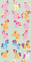 Shipping Adopts - Leftovers by MaddieAdopts