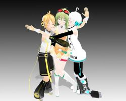 Len x GUMI x Piko Love Triangle! by VocaGUMImegpoid