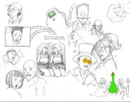 SuperJail SketchDump by UndeadPrincess