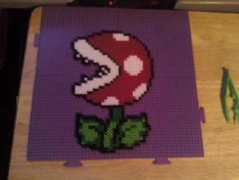 pirranha plant perler beads by dylrocks95