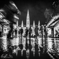 Christkindlmarkt Vienna 1 by Nightline
