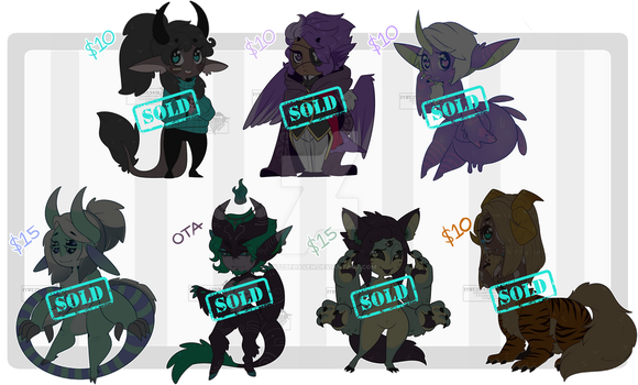 Random Adopts - CLOSED - Thank You! by Mitzbehaven