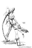 Jinx, the Loose Cannon (October 3rd, 2013) by Alex-Chow