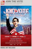 Join the Vote Event Flyer Template by loswl