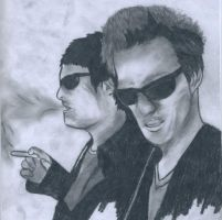 Boondock Saints Pencil by Mr-Sackboy