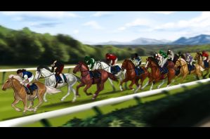 The Opening Race by abosz007