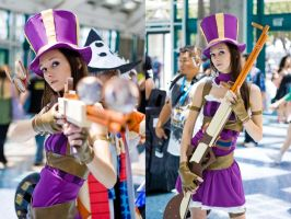 League of Legends - Caitlyn by P0kyu