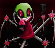 Entry: Nightmare Zim...Come out Dib... by Slurpythenobblefox