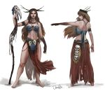 Tribal Princess Full Sheet by JowieLimArt