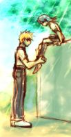 Bleach:'You and your shoe...' by ahnline