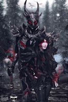 Daedric Armour Cosplay Edit by Charkiin