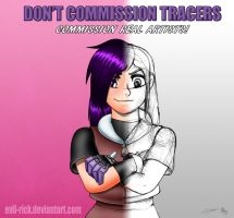 Don't commission Tracers, Commission real artists by Evil-Rick