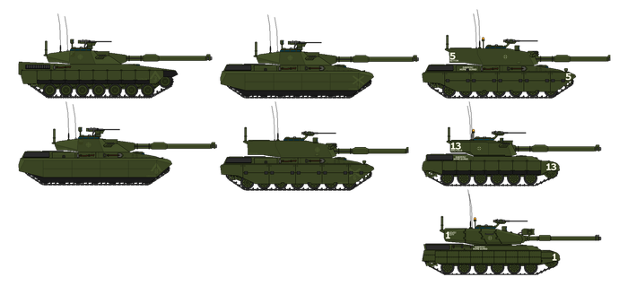 Tanks in Unified States Service by gool5000