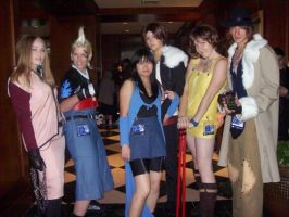 Final Fantasy 8 group by scattersakurablossom