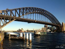 Sydney Harbour Bridge by Zlata-Petal