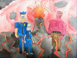 the Axe Cop returns by BARproductions
