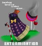 Dalek and the chocolate factory by Mikkimoo27