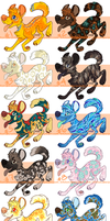 AWD Designs for Auction - Ends Feb 13th by khiton