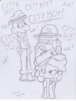 Dipper is a city boy!!! by ImmaRainbowNinja